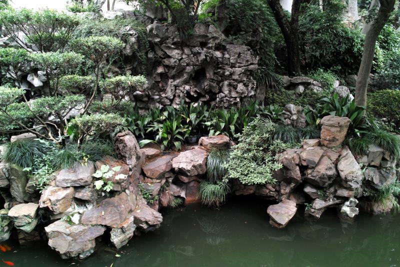 Сад Юй Юань, Шанхай (Yuyuan garden)