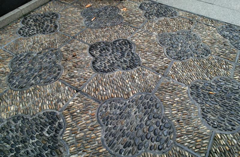 Мозаика, Сад Юй Юань, Шанхай (Yuyuan garden)